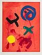 John Hoyland (1934-2011) Flying Wild etching with