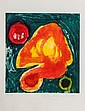 John Hoyland (1934-2011) Quas etching with