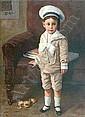 Paulo Ghiglia (1905-1979) Ritratto di bambino in, Paulo Ghiglia, Click for value