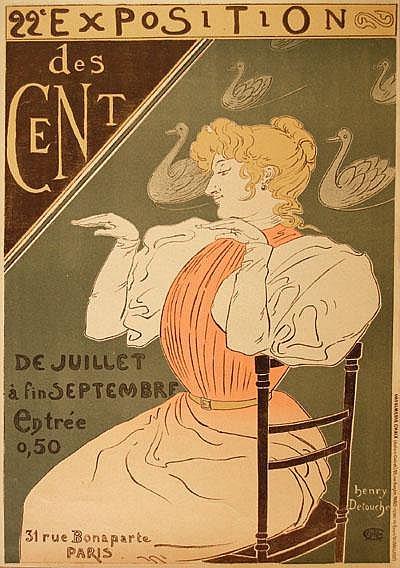 Vintage Posters: Detouche, Henri J. (1854-1913)