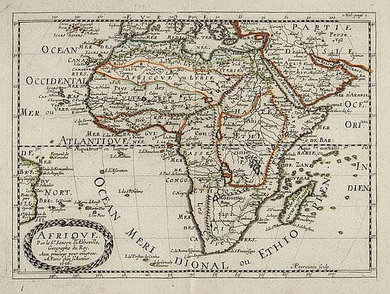 Sanson d'Abbeville (Nicolas) L'Afrique, lacks