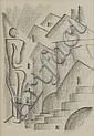 Pippo Oriani (Torino, 1909 - Roma, 1972) Figura, Pippo Oriani, Click for value