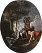 Paolo Monaldi (Roma 1720-1799) Le lavandaie; e I, Paolo Monaldi, Click for value