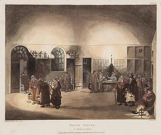 Rudolph Ackermann (1764-1834) A group of 50 plates