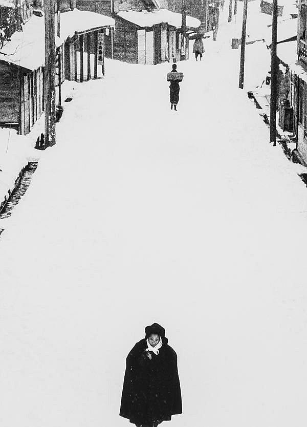 Kiichi Asano (1914-1993). Tokamachi, 1957. Gelatin