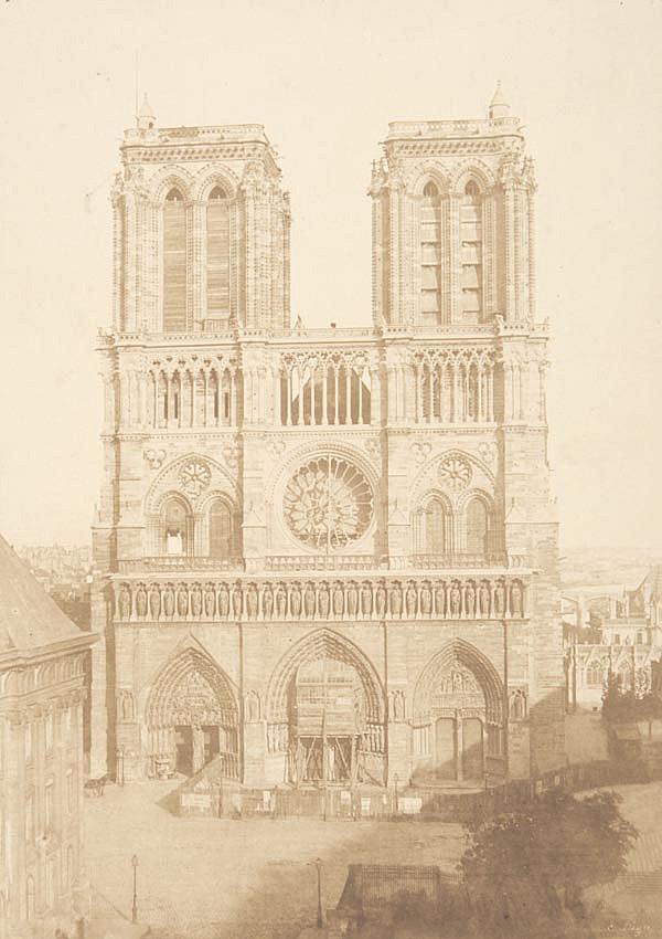 Charles Nègre (1820-1880). Notre Dame, ca.1853.