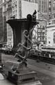 Walker Evans (1903-1975). Urn in front of New York