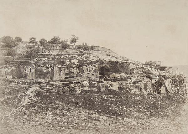 Auguste Salzmann (1824-1872). Jerusalem, 1854.