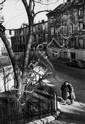 DDS Willy Ronis (1910-2009). Rue de la Clef, 1958.
