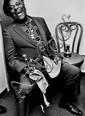 Dany Gignoux. Dizzy Gillespie, Washington, 1990.