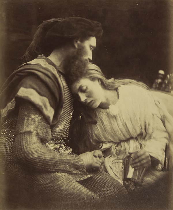 Julia Margaret Cameron (1815-1879). The Parting of