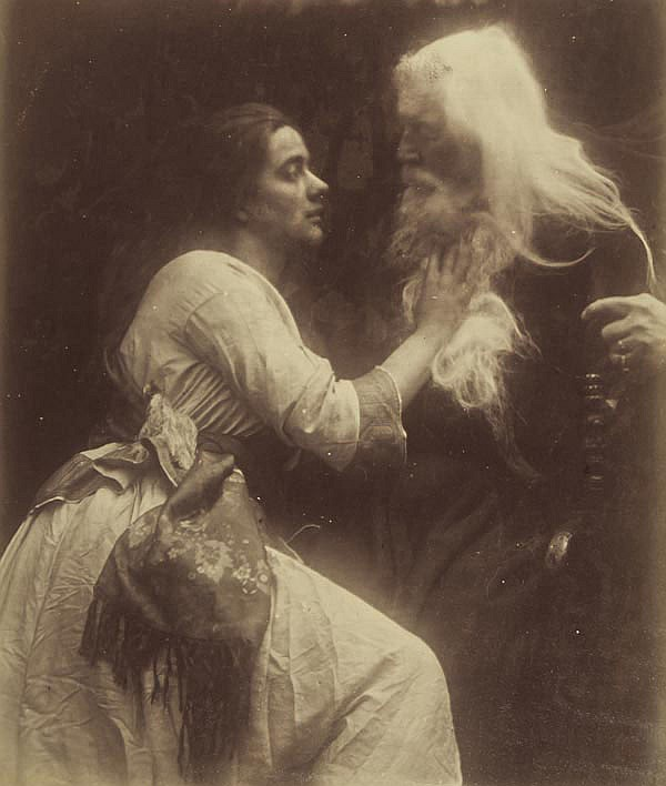 Julia Margaret Cameron (1815-1879). Vivien and
