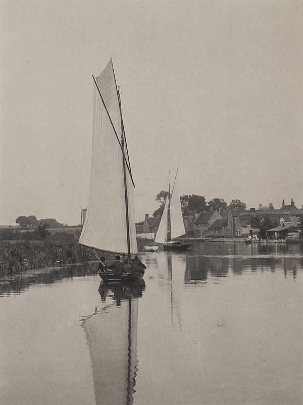 Peter Henry Emerson (1856-1936). The Village of