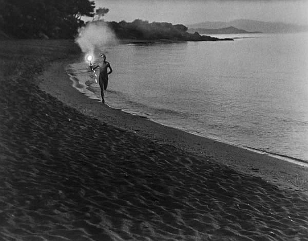 DDS Leni Riefenstahl (1902-2003). Der Fackelläufer
