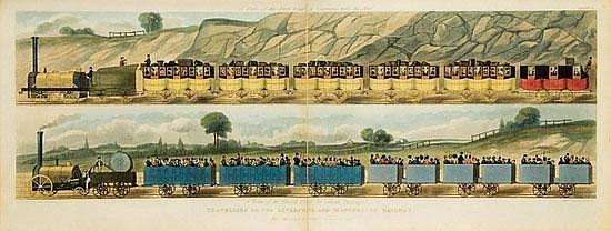 BURY, Thomas Talbot (1811-1877). Coloured Views on