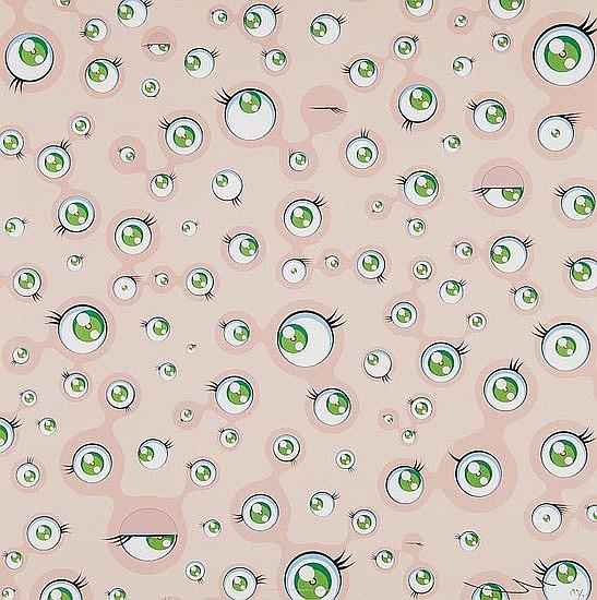Takashi Murakami (b.1962) Jellyfish Eyes, offset