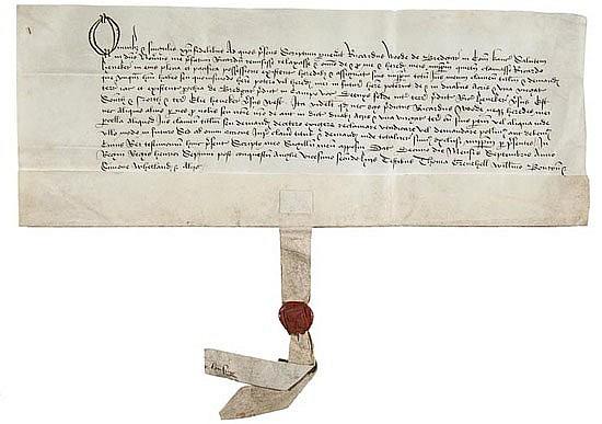 Kent.- Bredgar. Agreement between Richard Wode of