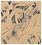 ZDANEVICH, Kiril (1892-1969). Futuristic, Kirill Zdanevič, Click for value