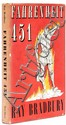 Bradbury (Ray) Fahrenheit 451, first English