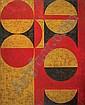 Anwar Jalal Shemza (1928-85) untitled, 1963 oil on, Anwar Jalal Shemza, Click for value