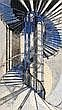 Cyril Power (1874-1951) The Tube Staircase (C.S.A, Cyril Edward Power, Click for value