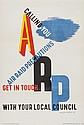 KAUFFER, Edward McKnight ARP lithograph in
