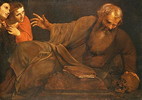 Angelo Caroselli (Roma 1585-1652) Tentazioni di