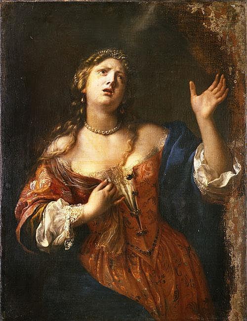 Onorio Marinari (Firenze 1627-1715) Semiramide (?)