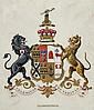 Heraldry Paintings.- Rolls of Llangattock and Gwyn