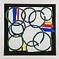 DDS. Sandra Blow (1925-2006) Borderline silkscreen