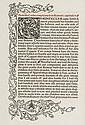 Caxton (William) The History of Reynard the Foxe,