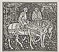 Gaskin (Arthur J.) Seven wood-engraved blocks, to