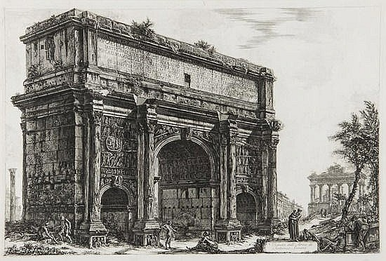 Giovanni Battista Piranesi (1720-1778) Veduta