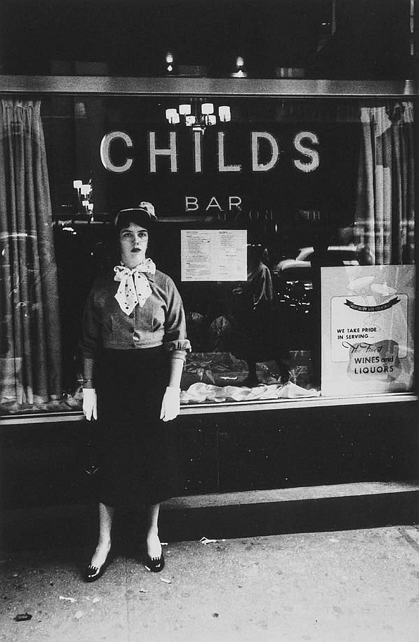 William Klein (b.1928) Stood up at Childs, New