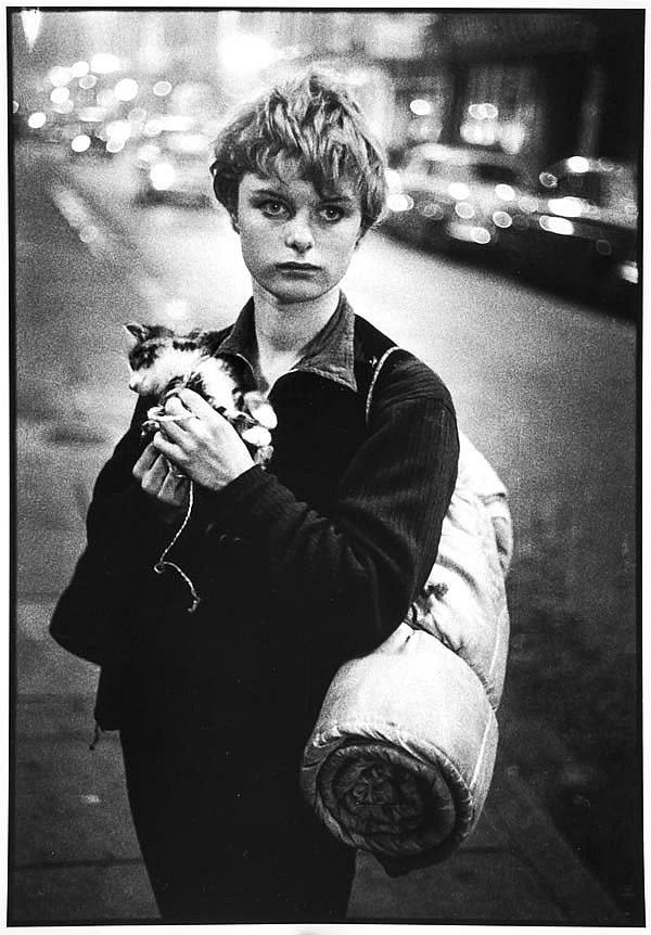 Bruce Davidson (b.1933) Girl Holding Kitten,