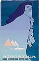 BATTISTELLA ADRIATICA lithograph in colours,