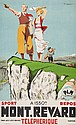 ORDNER Paul (1900-1969) MONT-REVARD lithograph in