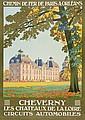 CONSTANT-DUVAL, Leon (1877-?) CHERVERNY lithograph