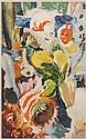 HITCHENS, Ivon (1893-1979) LONDON UNDERGROUND