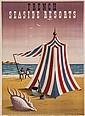LE DOUX, Jean Picart (1902-1982) FRENCH, Seaside