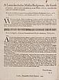 Civil War.- A letter directed to Master Bridgeman,