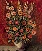 Ramon Senabré (20th century) Bouquet of flowers in