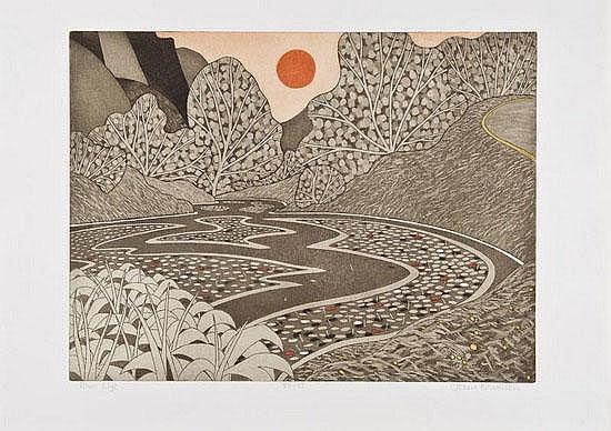John Brunsdon (b.1923) Solva; Rydal; River Wye