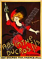 CAPPIELLO, Leonetto ABSINTHE DUCROS FILS, Leonetto Capiello, Click for value