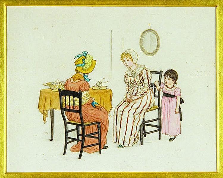 GREENAWAY, Kate (1846-1901). [Sophia's Foolscap],
