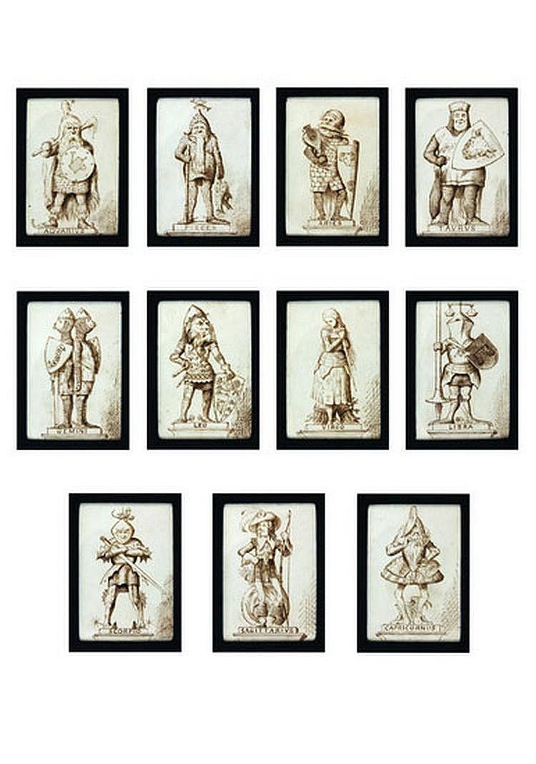 "TENNIEL, Sir John (1820-1914). ""Signs of the"