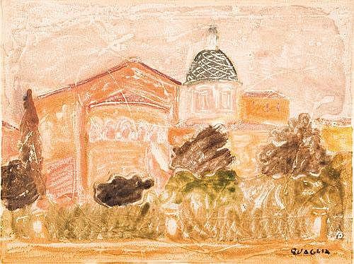 ^Carlo Quaglia (1907-1970) Roma, Sant'Anselmo