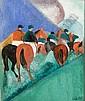 Giuseppe Cesetti (1902-1990) Fantini a cavallo, Giuseppe Cesetti, Click for value