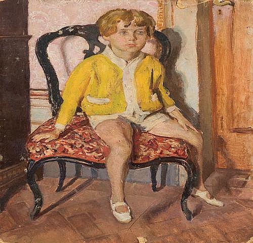Cipriano Efisio Oppo (1891-1962) Ritratto del