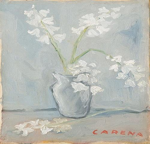 Attribuito a Felice Carena (1879-1966) Fiori